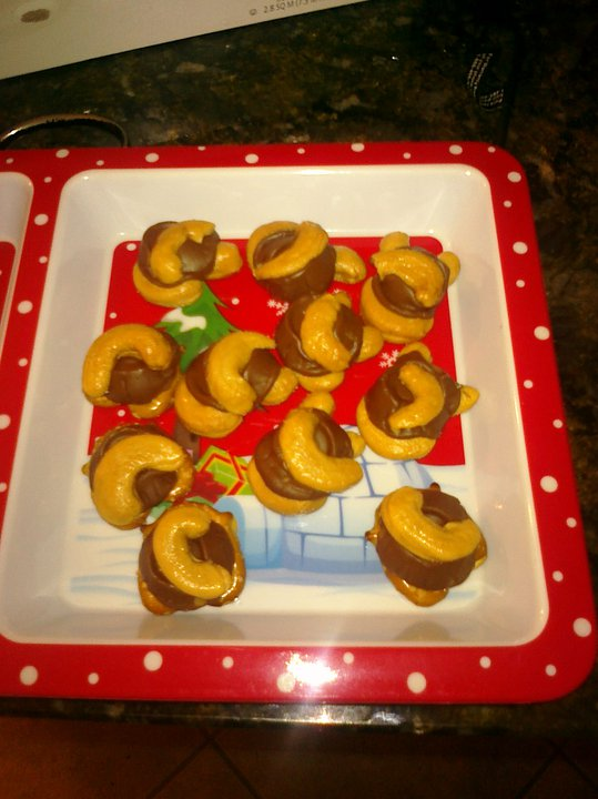 Rolo Pretzel Turtle Recipe Easiest Holiday Recipe Ever!