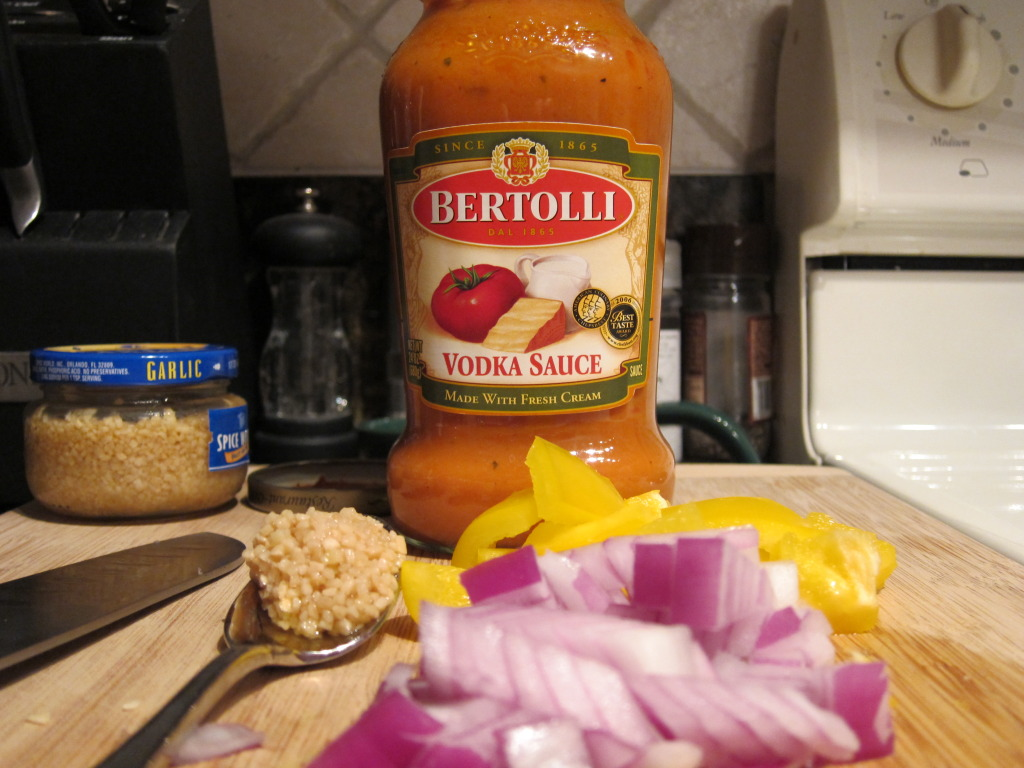 Bertolli Vodka Sauce Chicken & Peppers Penne Pasta