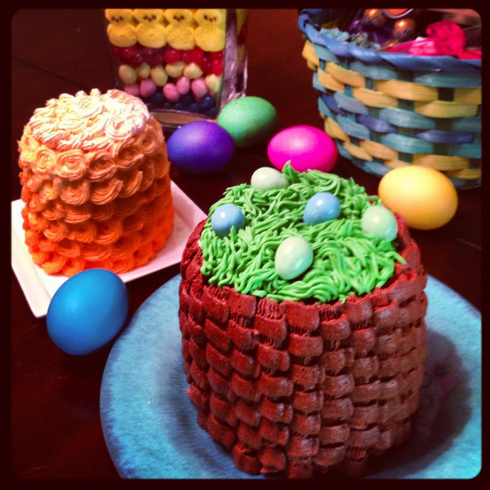 Mini Cakes in Tin Cans and Other Easter Projects