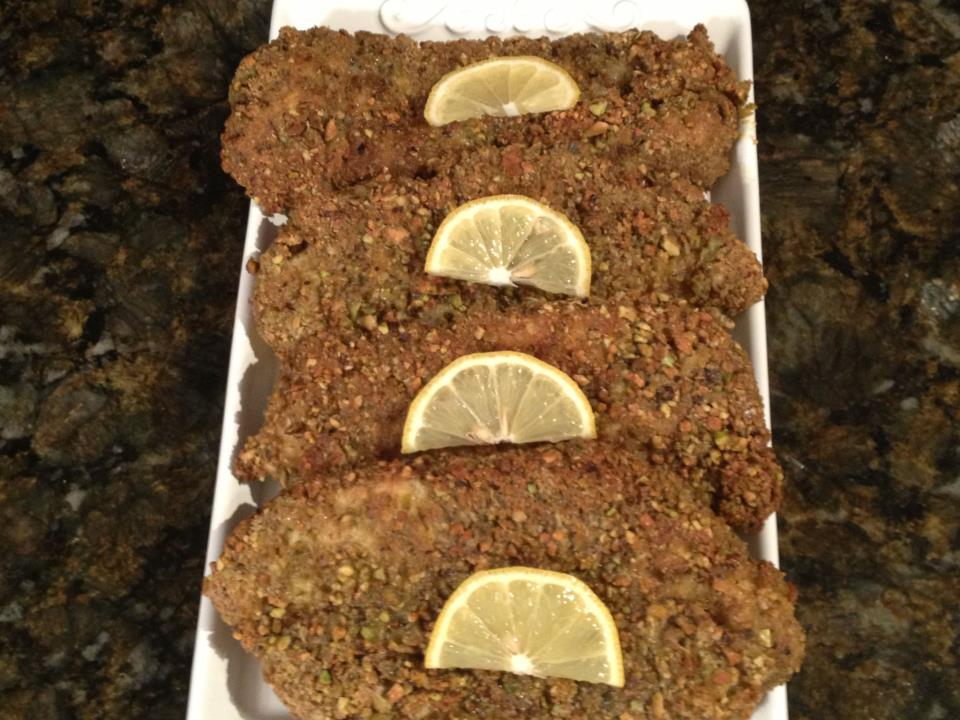 Pistachio Lemon & Garlic Chicken