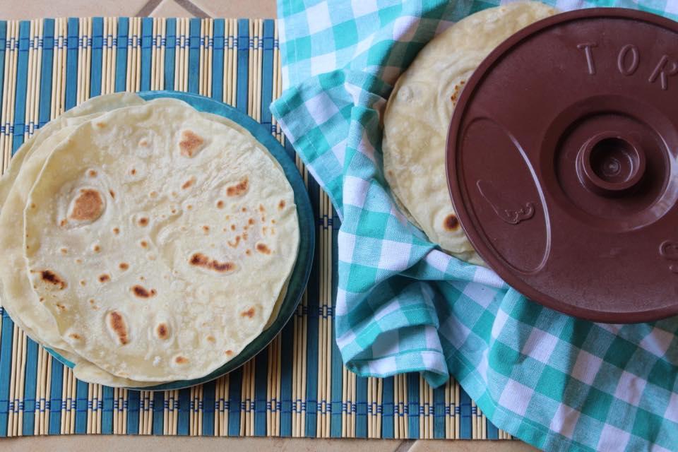 The Softest White Flour Tortillas