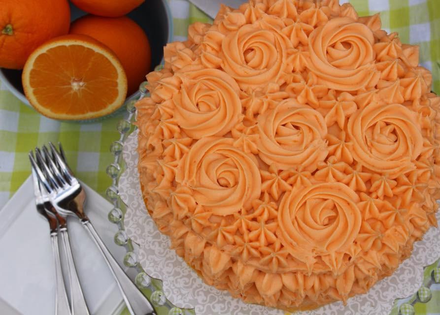 Orange Crunch Cake4
