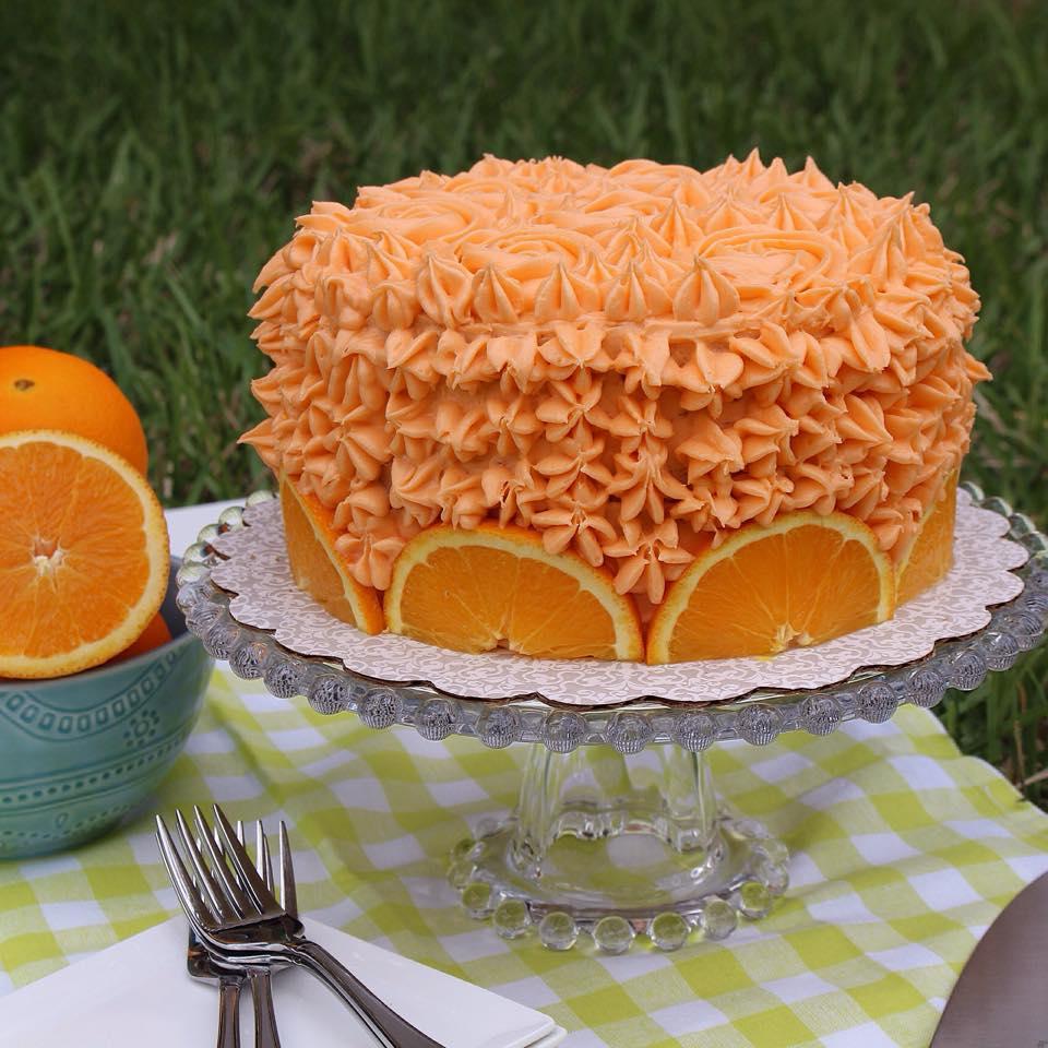 Orange Crunch Cake8