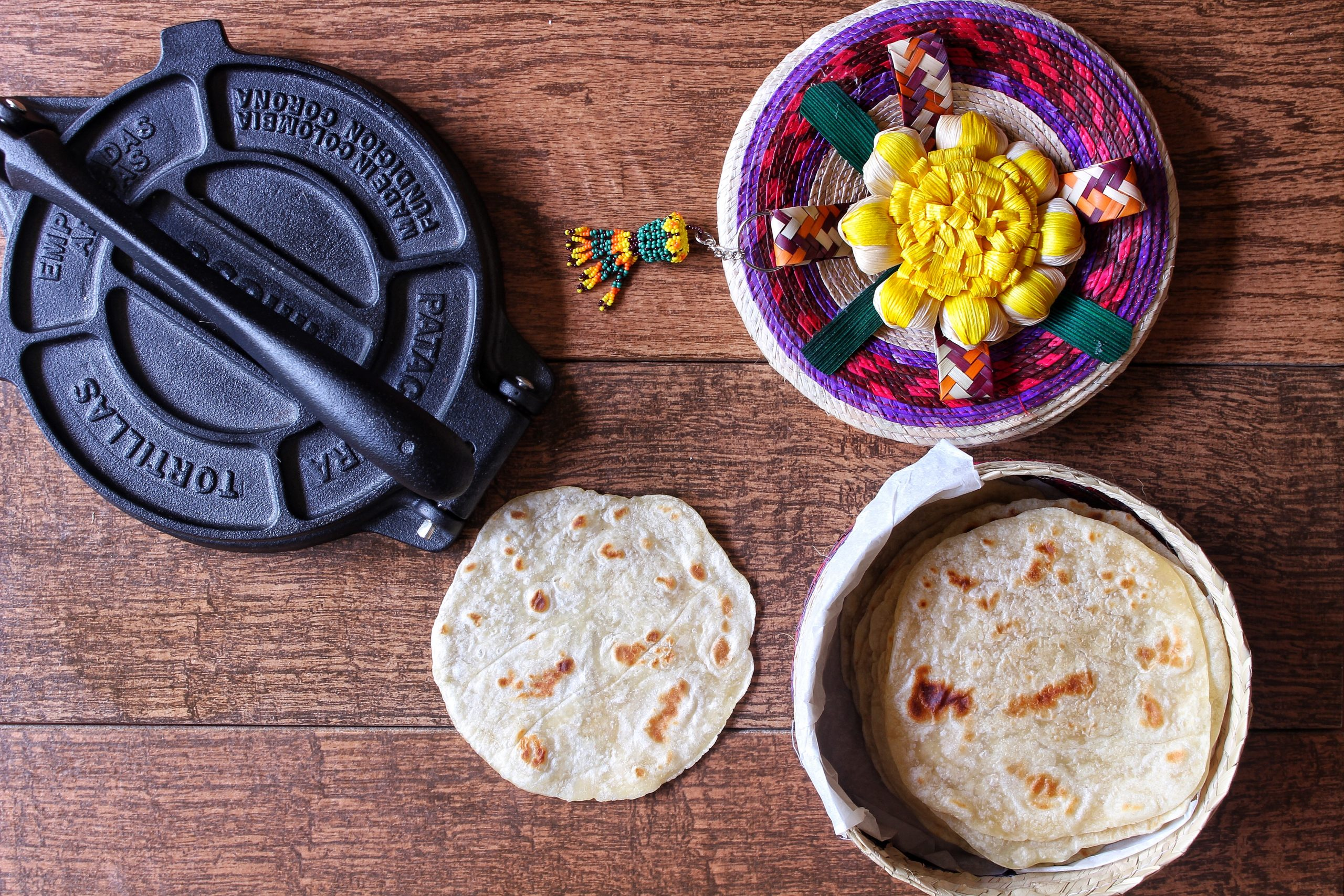 How To Make Flour Tortillas With A Tortilla Press Easy Tutorial